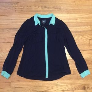 Anthropologie Maeve button down shirt - Sz 12